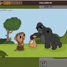 BrainPop Game Up Code Monkey